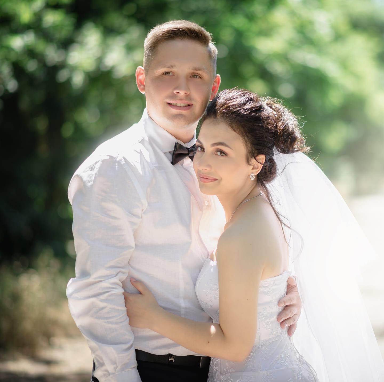 Погибший Сергей Ковалев с женой. Фото с его страницы в Facebook