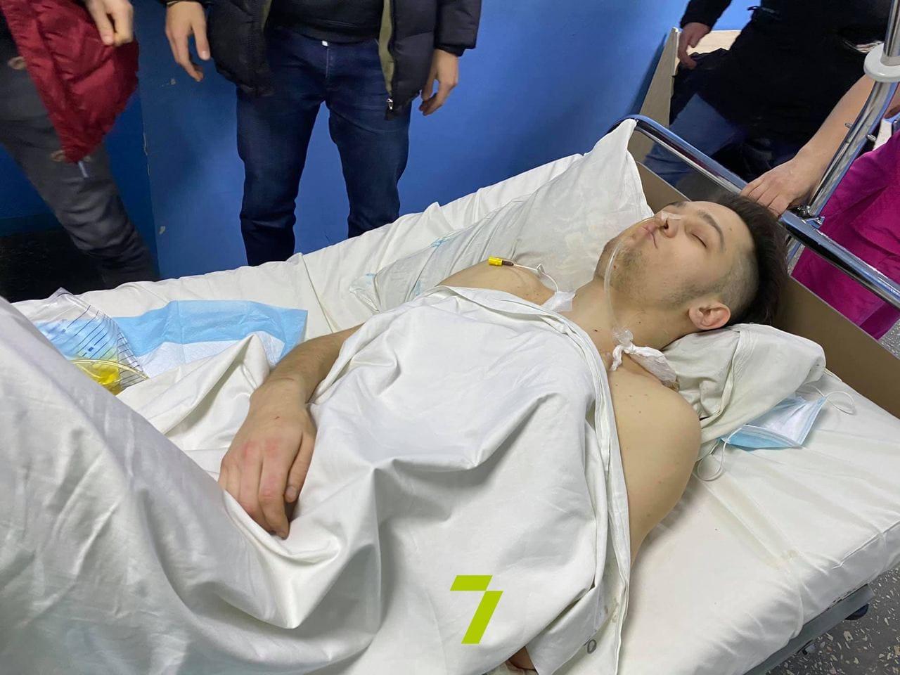 19-летний парень в коме. Фото: Федор Герасимов