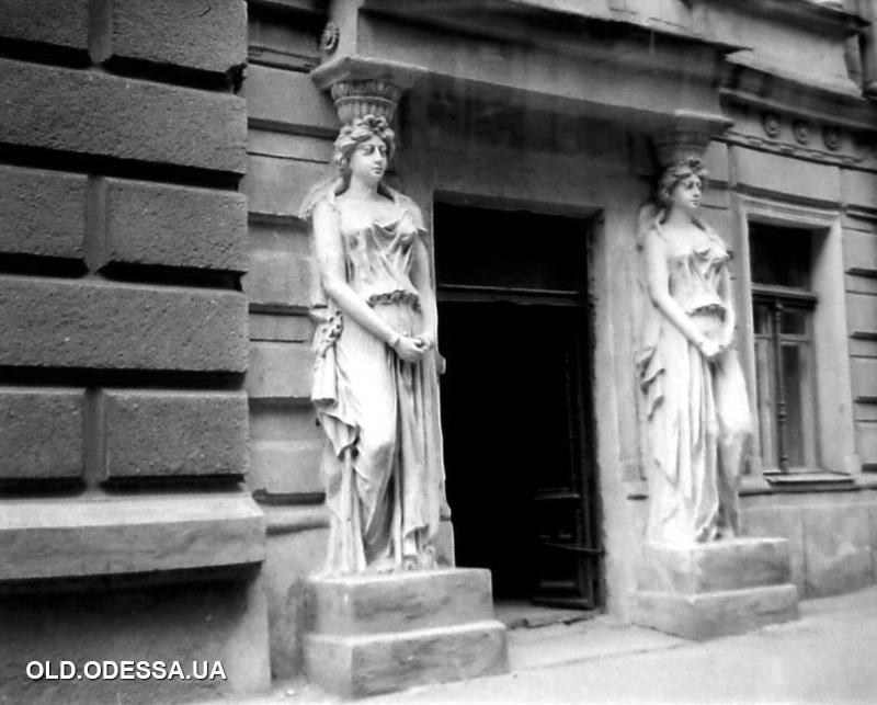 Одесса, улица Франца Меринга, 58. 1970-е годы Источник: viknaodessa.od.ua