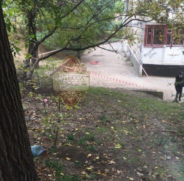 Самоубийство на Балковской. Фото: Одесса, как она есть