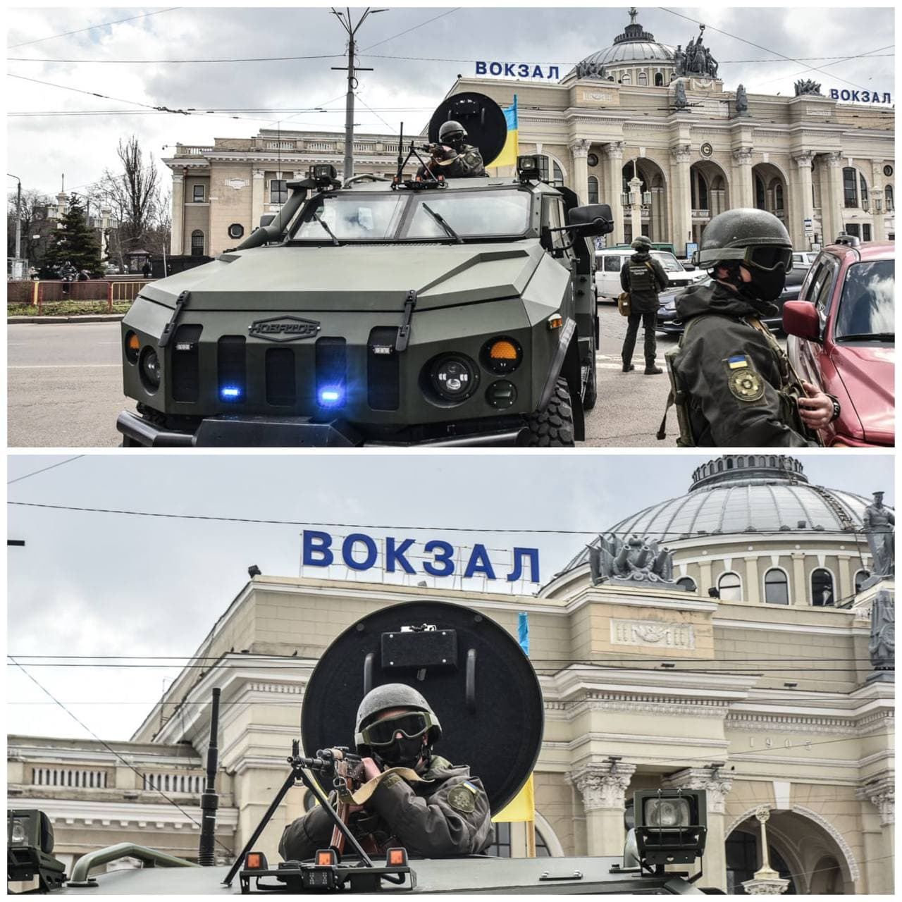 Учения в Одессе. Фото: Odessa Info