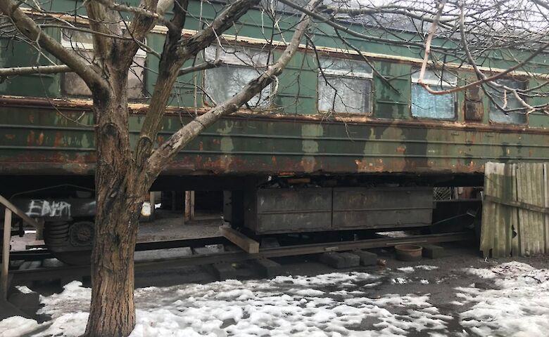 Вагончики под Одессой. Фото: Секретариата Уполномоченного ВРУ по правам человека