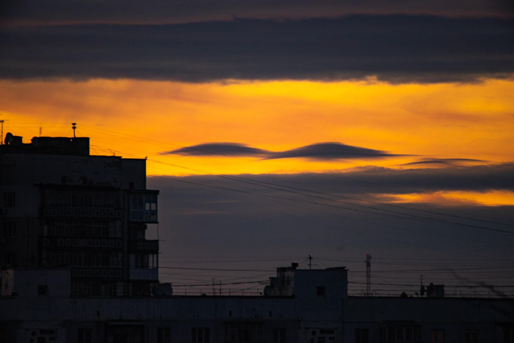 Закат 25 ноября 20202 года в Одессе. Фото: Andrey Nikolenko