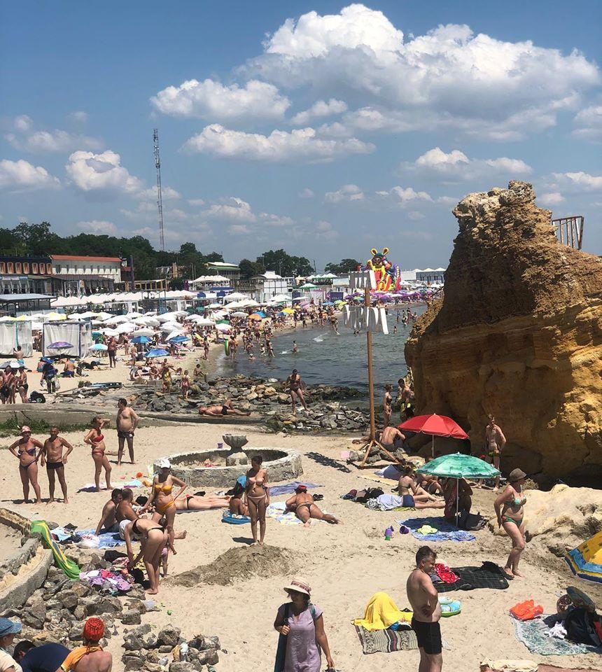Пляж «Отрада». Фото: Сергей Кравец