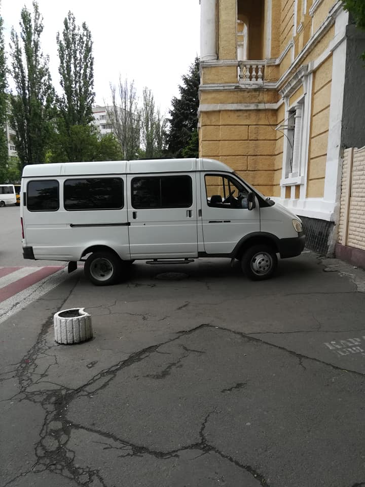 Подборка неудачной парковки Одессы за третью неделю мая