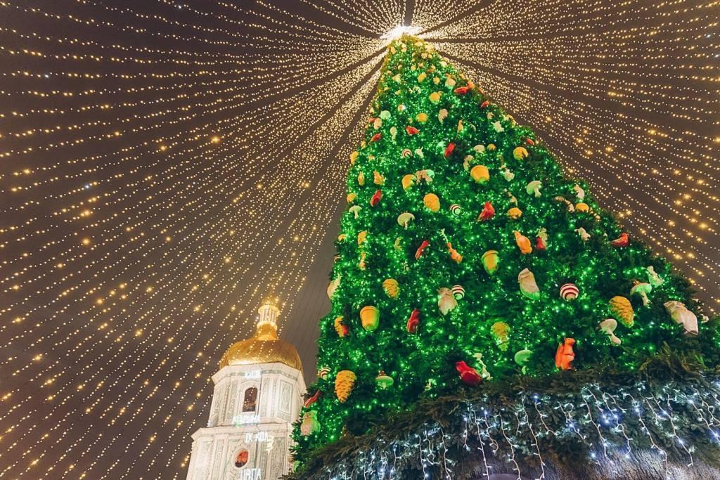 Новогодняя елка 2020 в Киеве