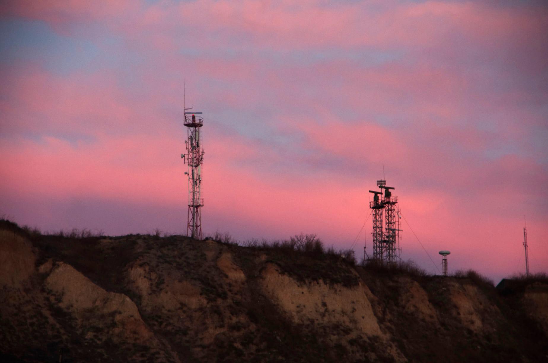 Пылающие небо: как выглядит заказ на побережье Одессы. Фото Лолиты Клочковой