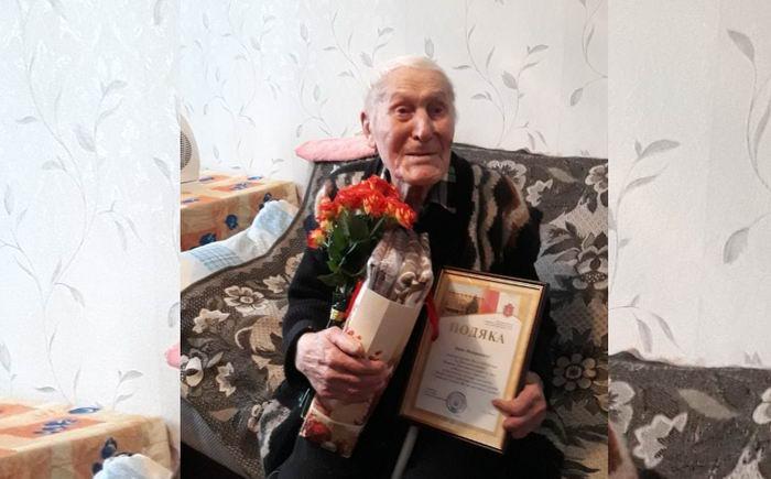"""Поздравили от всего города: одесситу-долгожителю исполнилось 106 лет. Фото: """"УСИ"""""""