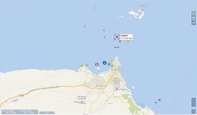 В Аденском заливе застряло судно Thorn1 с одесситам на борту