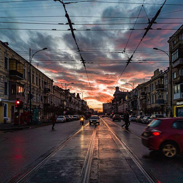 Холодные закаты и рассветы: посмотри, как прекрасна Одесса. Фото: instagram.com/oleg.krivlyuk
