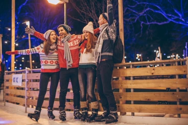 Ледовые катания ко Дню студента. Фото: pexels