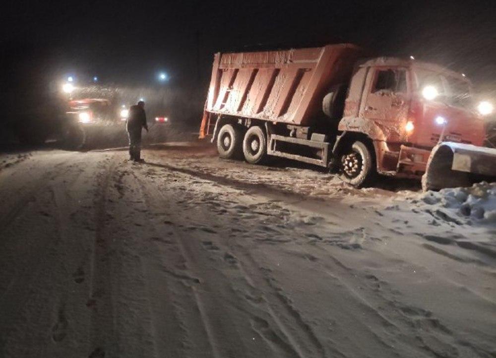 Второй день снегопада в Одессе: хроника событий. Фото: Служба чрезвычайных ситуаций