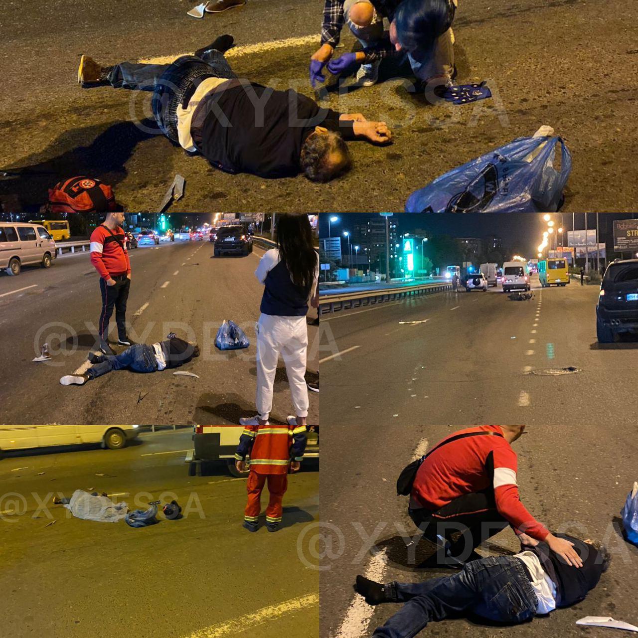 Авария на поселке Котовского. Фото: телеграм-канал ХО