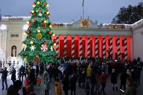 Новогодняя елка 2020 в Одессе