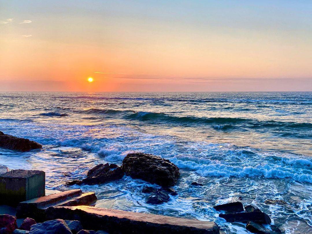 Майские закаты и рассветы: посмотри, как прекрасна Одесса. Фото: instagram.com/v_dragomirova