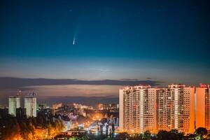 Увидим еще нескоро: одесситы продолжают наблюдать за летящей кометой фото 1