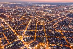 Тысячи огней: посмотри на ночную Одессу с высоты птичьего полета фото 1