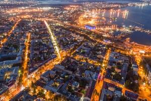 Тысячи огней: посмотри на ночную Одессу с высоты птичьего полета фото 2