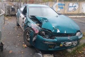В ДТП на Таирова перевернулся автомобиль: есть пострадавшие фото
