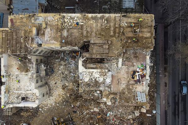 На Торговой разбирают доходный дом Бенетато: соседние постройки в опасности фото 5