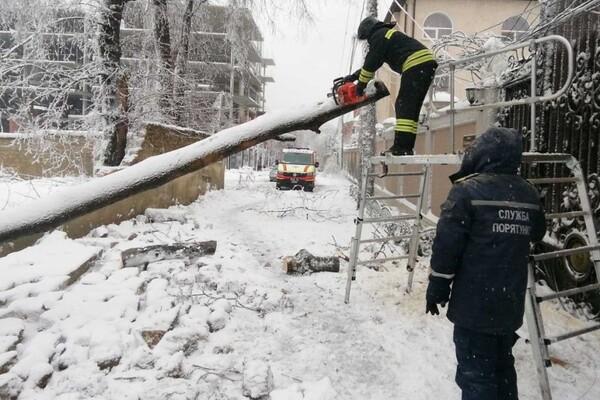 Второй день снегопада в Одессе: хроника событий (обновляется) фото 2