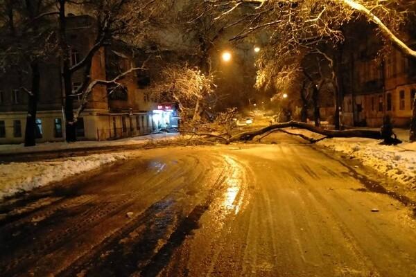 Снежная стихия: как одесские коммунальщики работают вторые сутки фото 10