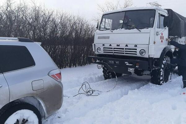 805 застрявших автомобилей: какая ситуация на одесских трассах фото