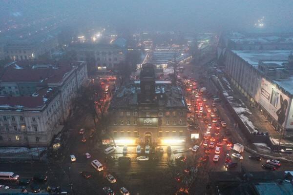 Пробки из-за перекрытой дороги: в центре Одессы невозможно проехать фото