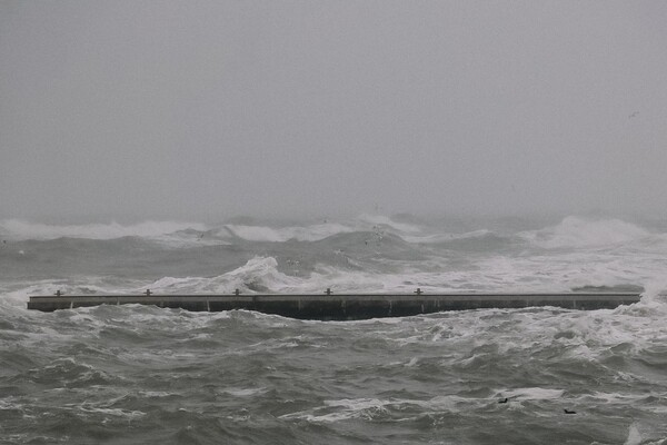Полюбуйся стихией: на побережье Одессы обрушился сильный шторм  фото 3