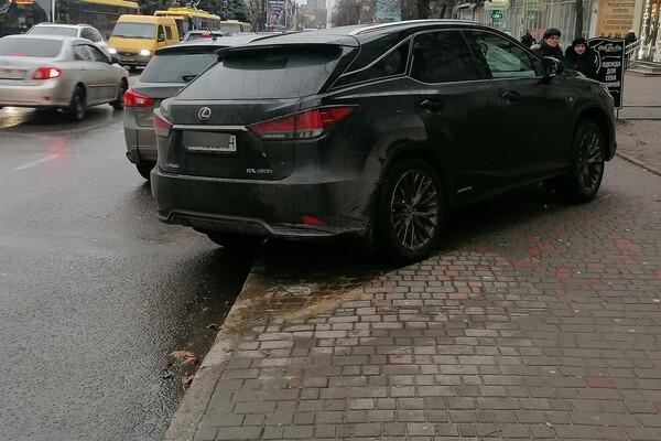 Я паркуюсь как: свежая фотоподборка наглых водителей в Одессе фото 9