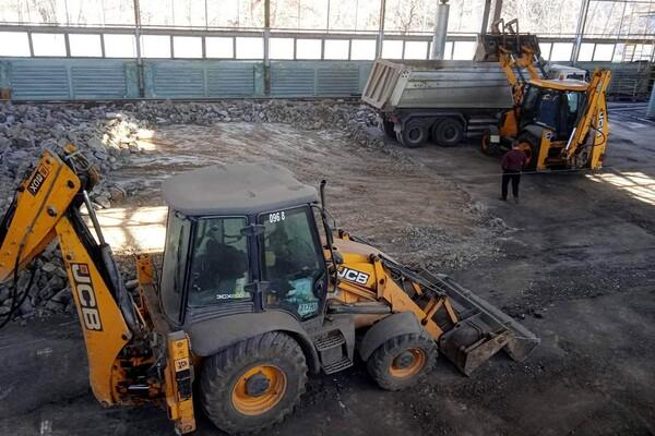 """Хорошие новости: в Одессе начали реконструкцию """"Олимпийца"""" фото"""