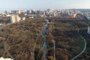 С высоты птичьего полета: смотри, как выглядит весенний парк Победы фото