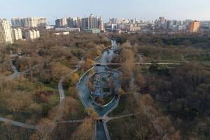 С высоты птичьего полета: смотри, как выглядит весенний парк Победы фото 1