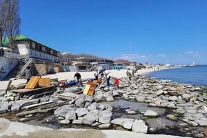 Полюбуйся: на побережье Одессы пенсионер создал пляж для птиц фото 2