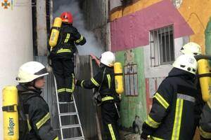 Непростые выходные: в Одессе горели четырнадцатиэтажка и отель фото