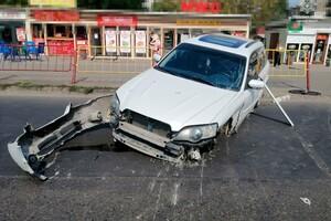 В Лузановке столкнулись два авто: женщина и двое детей получили травмы фото 1